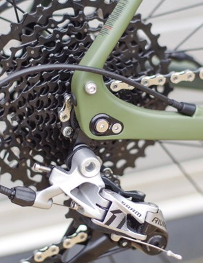 It might surprise you to see SRAM kit on a Genesis (given that Madison distributes Shimano), but Shimano doesn't offer a native 1x groupset