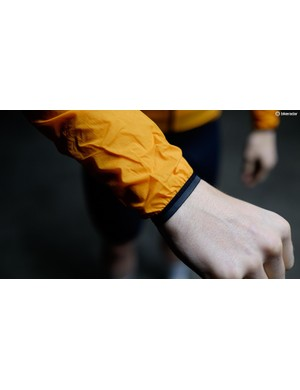 Elasticated cuffs on the HotPack keep the weather out and have reflective detailing