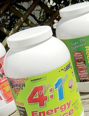 Drinks with a 4:1 ratio of energy to protein have been shown to be effective post-race