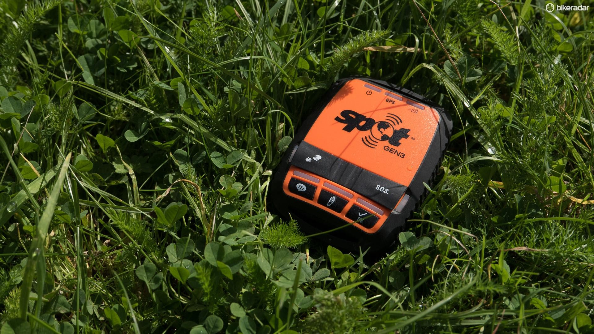 The SPOT GEN3 tracker allows you to share your real time location