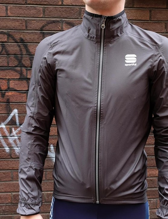 The Sportful Stelvio jacket claims to be a market leading combination of water protection and breathability