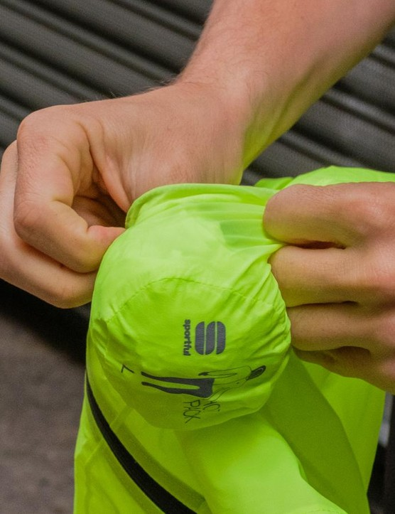The age old question of folding, packing or simply stuffing your waterproof away