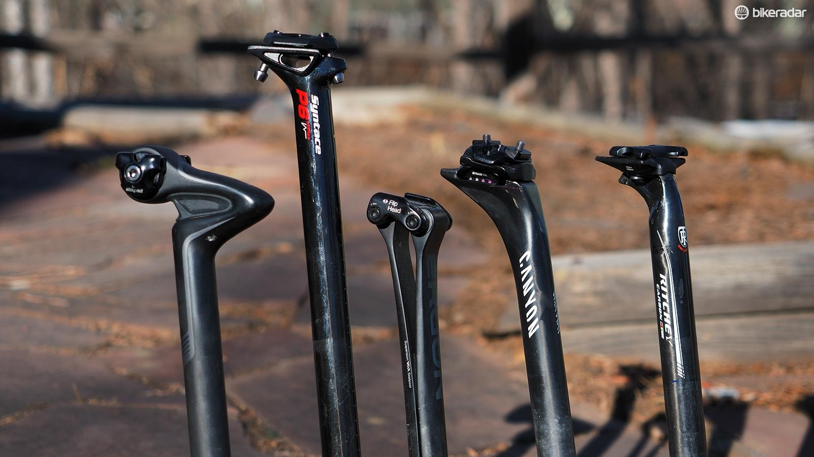BikeRadar tested five of the top soft-riding carbon seatposts both in the lab and on the road – which one provides the best overall ride?