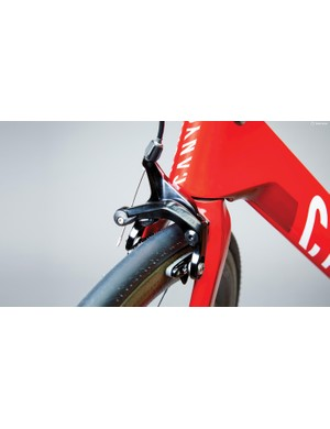 The new brake looks very similar to SRAM's regular calipers