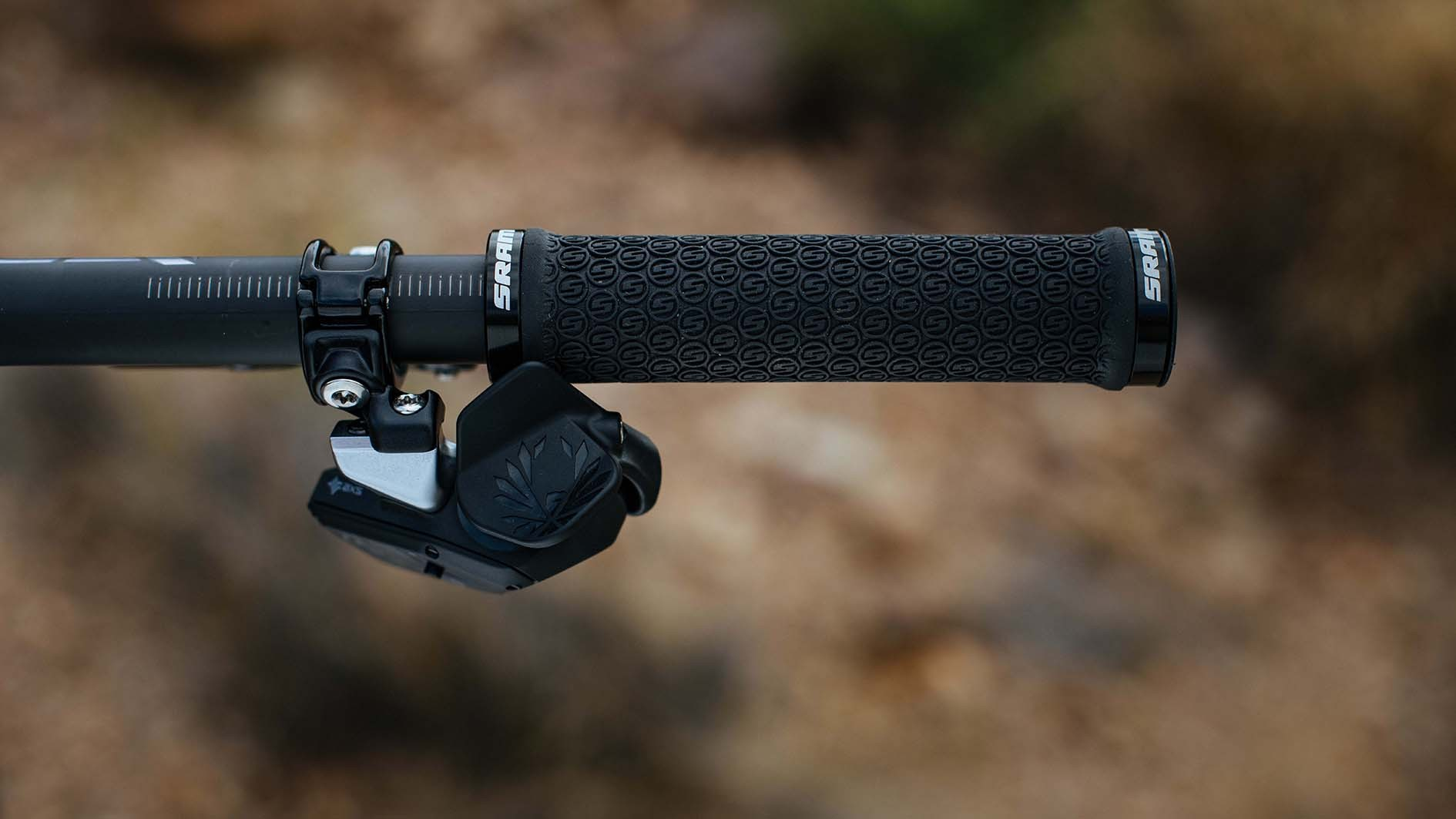 The new AXS shifter doesn't feel or look like a traditional shifter. It features three buttons (the sprint button is on the front, out of sight), all of which can be customised using the AXS app