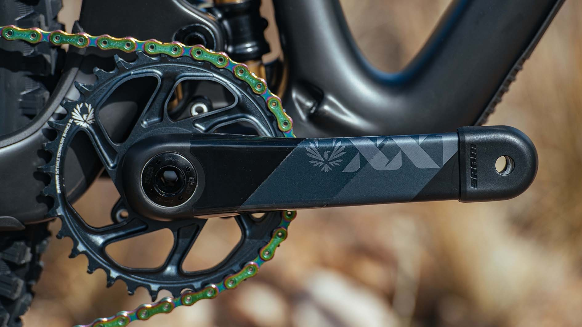 SRAM is selling XX1 (and X01) Eagle AXS as a complete drivetrain. That means along with the shifter and derailleur, there's the cranks, chainring, chain and cassette which are the same as used on the mechanical XX1 transmission