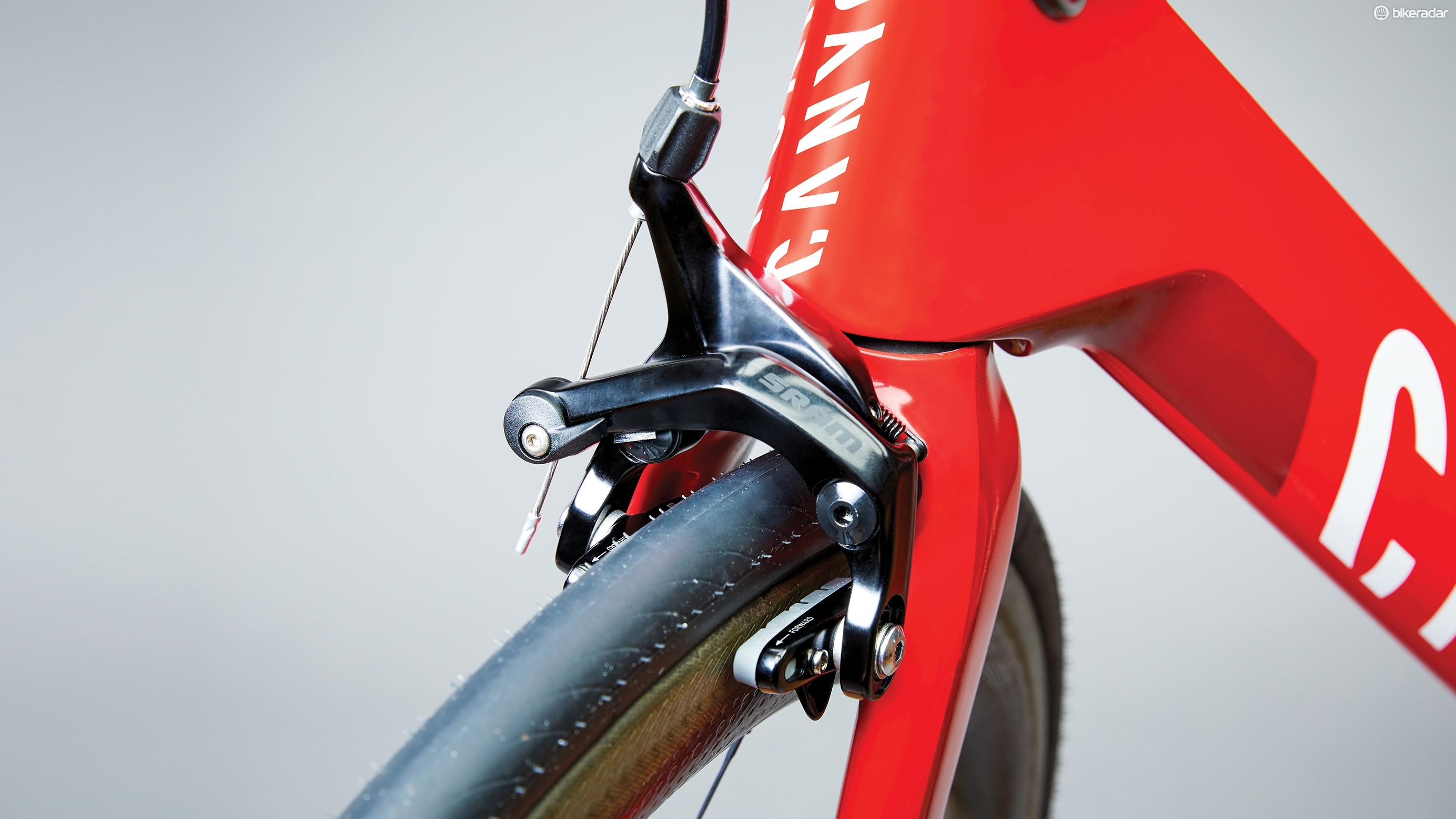 SRAM was last to the direct-mount party with the non-series S-900 brake