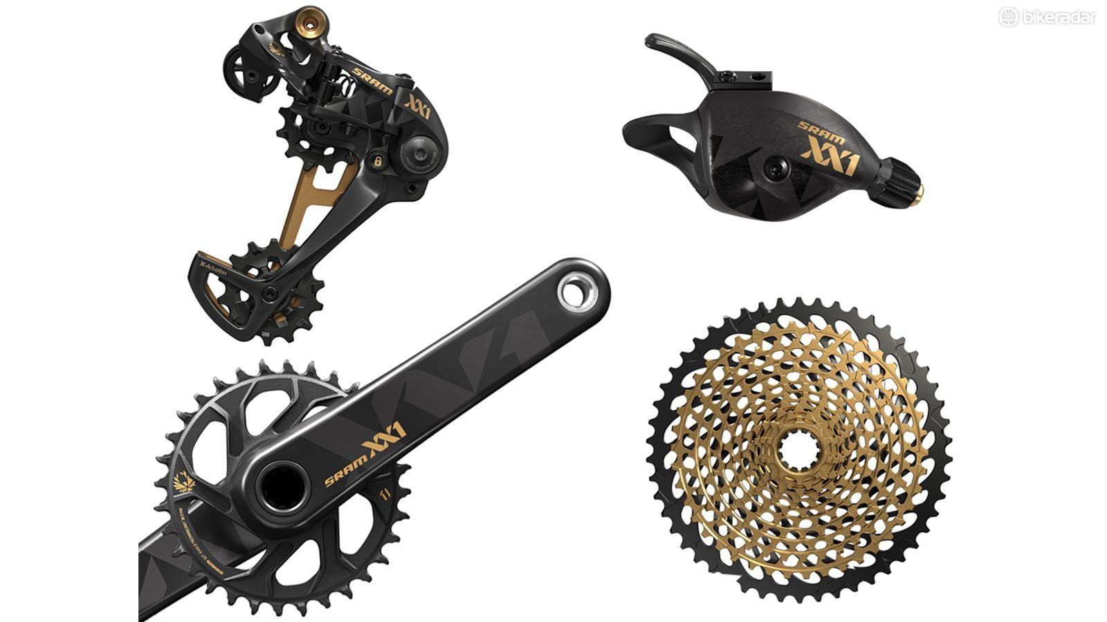 This year's most wanted mountain bike drivetrain: SRAM Eagle XX1