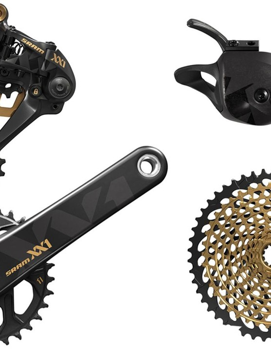 This year's most wanted mountain bike drivetrain: SRAM Eagle XX1