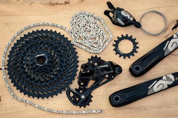 SRAM's EX1 drivetrain aims to meet the needs of the latest breed of e-mountain bikes