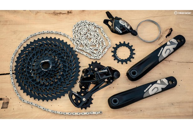 SRAM's EX1 drivetrain aims to meet the needs of the latest breed of e-mountain bikes
