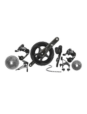 SRAM Force 22 shares the same performance as the pro-level Red 22, but at a 400g weight penalty