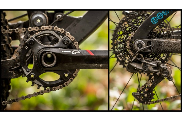 SRAM GX is a very budget-friendly 1x group that's suitable for real mountain biking