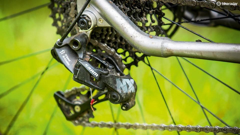 727a63e15c5 SRAM NX 11-speed transmission review - BikeRadar