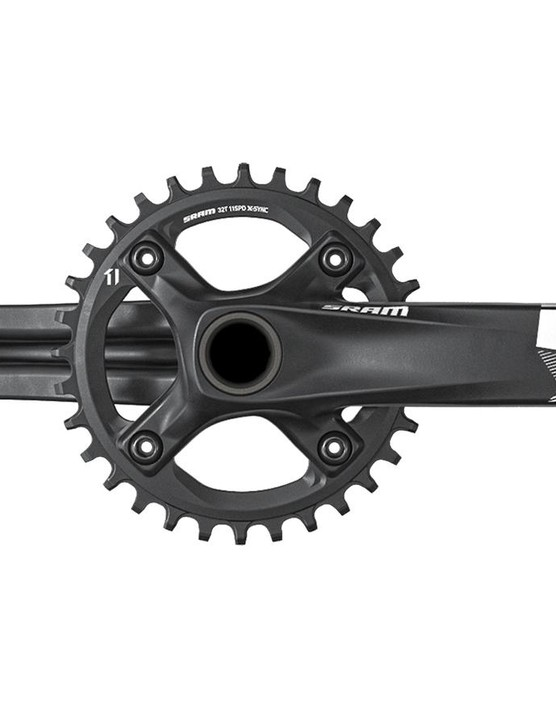 NX cranks come in 155m 165, 170 and 175mm versions