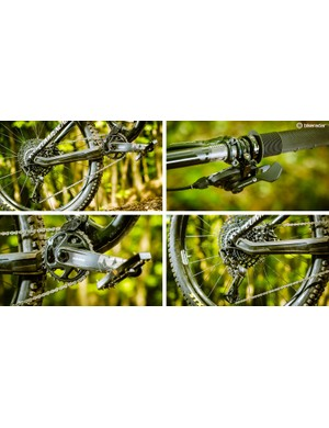 NX Eagle is SRAM's cheapest 12-speed groupset