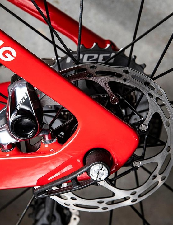 Trek-Segafredo has committed to racing entirely with disc brakes this season