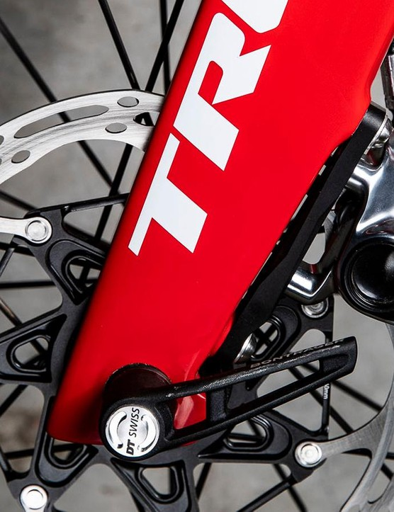 The disc rotors on SRAM's new groupset are now road-specific