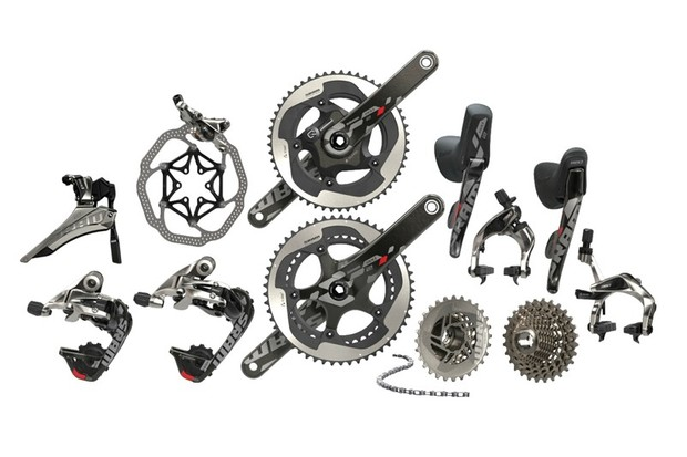 SRAM Red 22 is the lightest mainstream groupset on the market at 1,747g