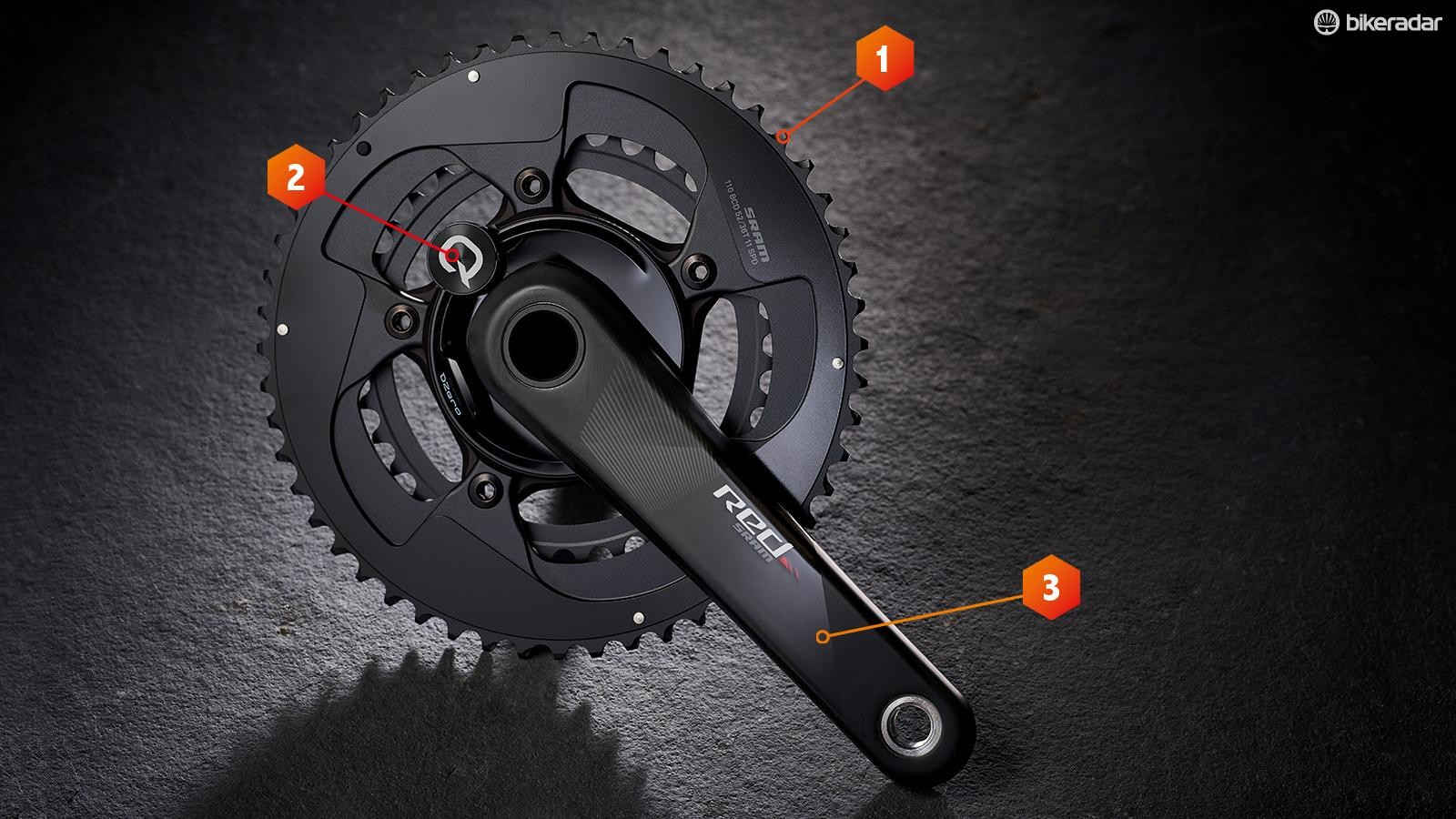 The Red Quarq DZero from SRAM