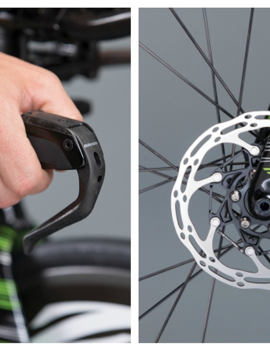 SRAM's new S-900 brakes removes the reliance on mechanical options for disc equipped TT bikes