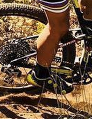 Is Eagle eTap on the way? By the looks of Nino Schurter's rear derailleur, the answer is yes