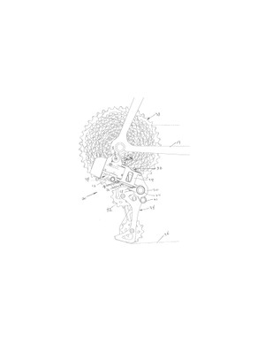 Interestingly, this patent drawing for an electric rear derailleur with a clutch is from October, 2013