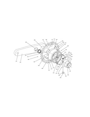 The complete pivoting chainring assembly from the SRAM patent