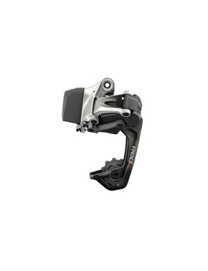 The new SRAM Red WiFLi rear derailleur is compatible with cassettes up to 11-32t