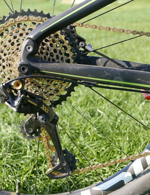 The 50-tooth cog gives a substantial 500% gear range, enough to compete with many double setups