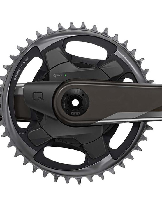 The 'cross 1x chainset also has a power meter option