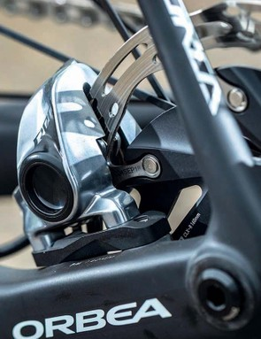 SRAM has finally produced a dedicated rotor for the road, and with its sculpted carrier and stainless (round-edged) brake track it looks the business