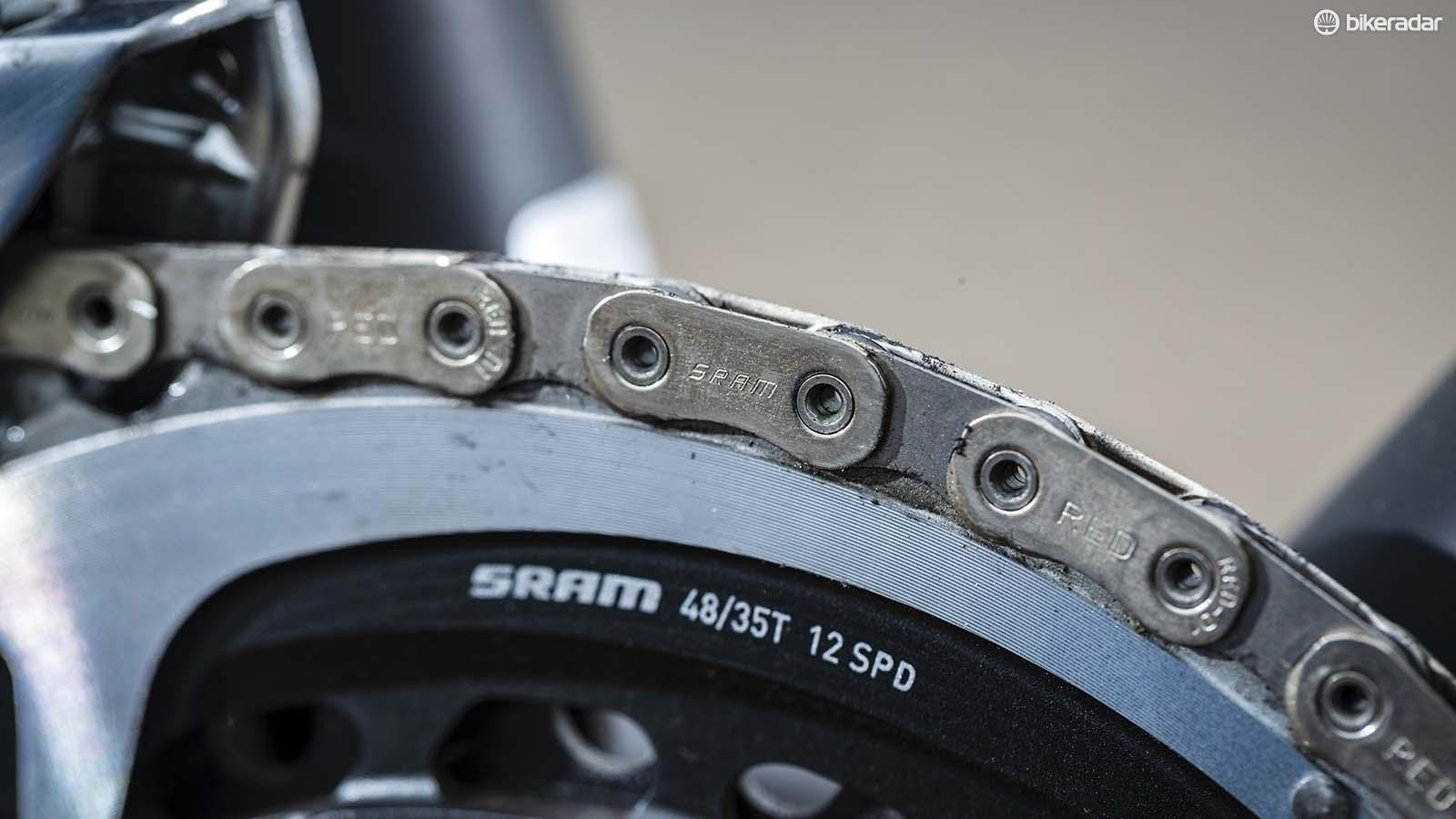 The new flat topped chain
