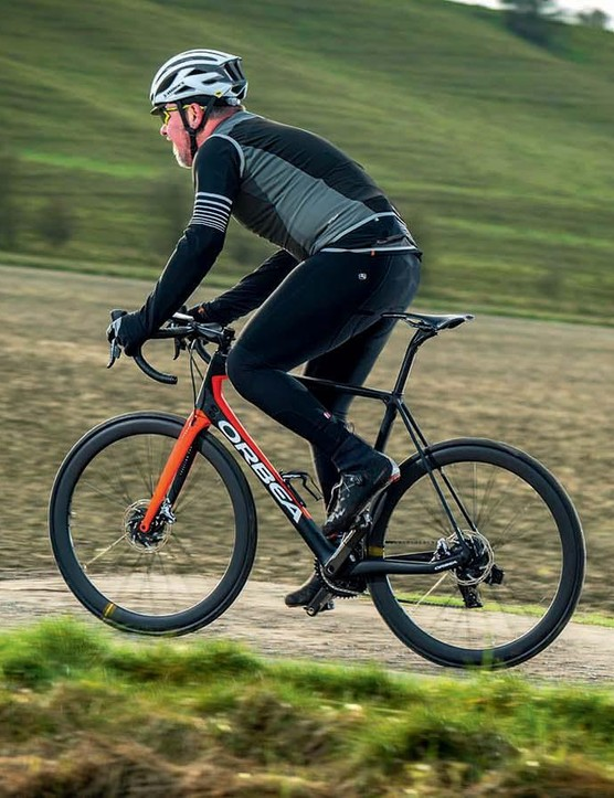 I've been riding the new eTap for a few months now on Orbea's new Orca, which is available with the new eTap and Mavic Cosmic carbon Pro UST wheels and FSA K-Force carbon finsihing kit for £7,649
