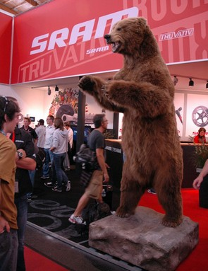 SRAM doesn't just want to shout about their new product;  they want to roar about it!