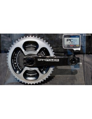 The new SRM Origin power meter loses the uniform look for increased adaptability