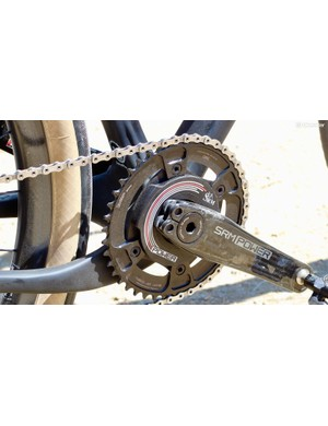 The new system comes in two spider sizes: 110BCD for road and 104BCD for MTB