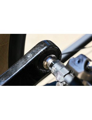 Look's 'Trilobe Technology' creates 170, 172.5 and 175mm crank lengths within a single arm