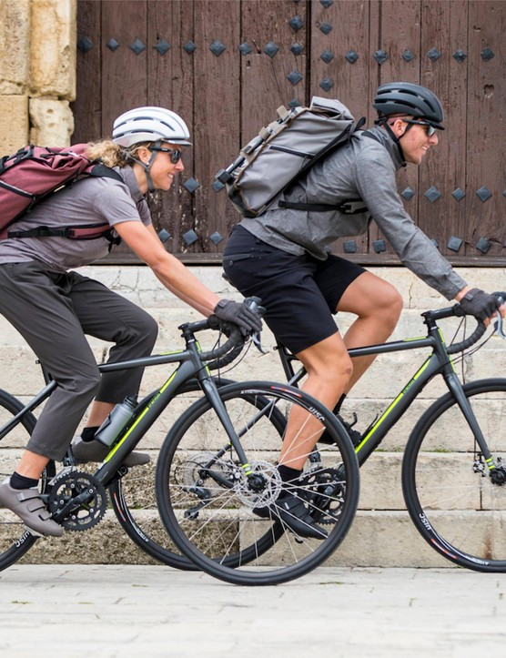 The Transit line of clothing is aimed at both commuters and tourers