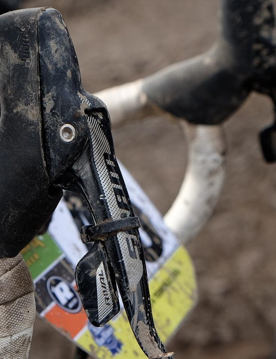 Riders without dedicated singlespeeds were required to settle on a gear and zip-tie their shift levers