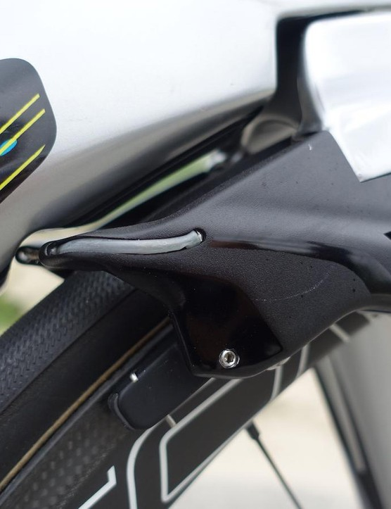 Kittel gets updated aero brakes for his Specialized Venge ViAS, as do all the riders aboard Specialized's aero-optimised road chassis