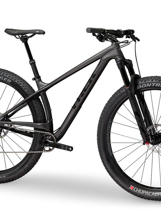 The Stache 9.6 is the more affordable carbon option
