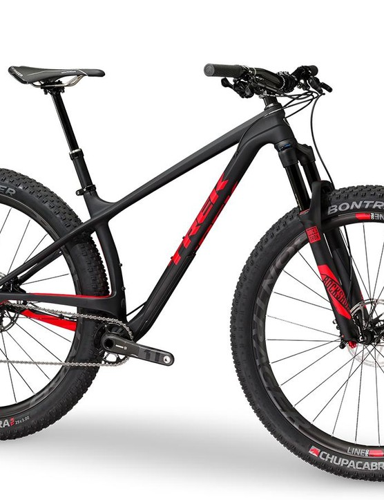 Trek's Stache 9.8 is the top bike in the new carbon line