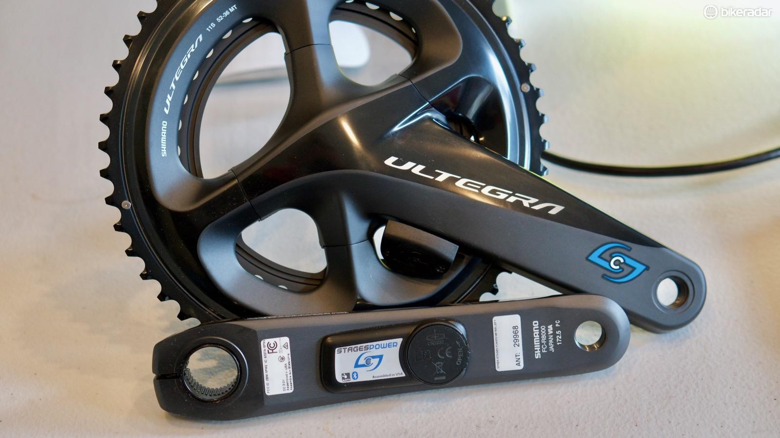 The Stages Power LR Ultegra is the third-generation of power meters from the original left-crank meter company