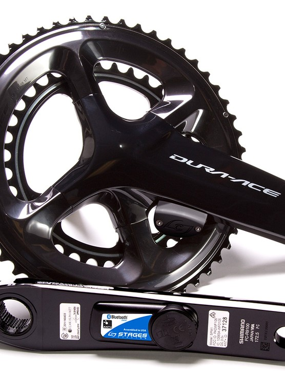 The Stages Power LR will come in this Dura-Ace 9100 and an Ultegra R8000 version