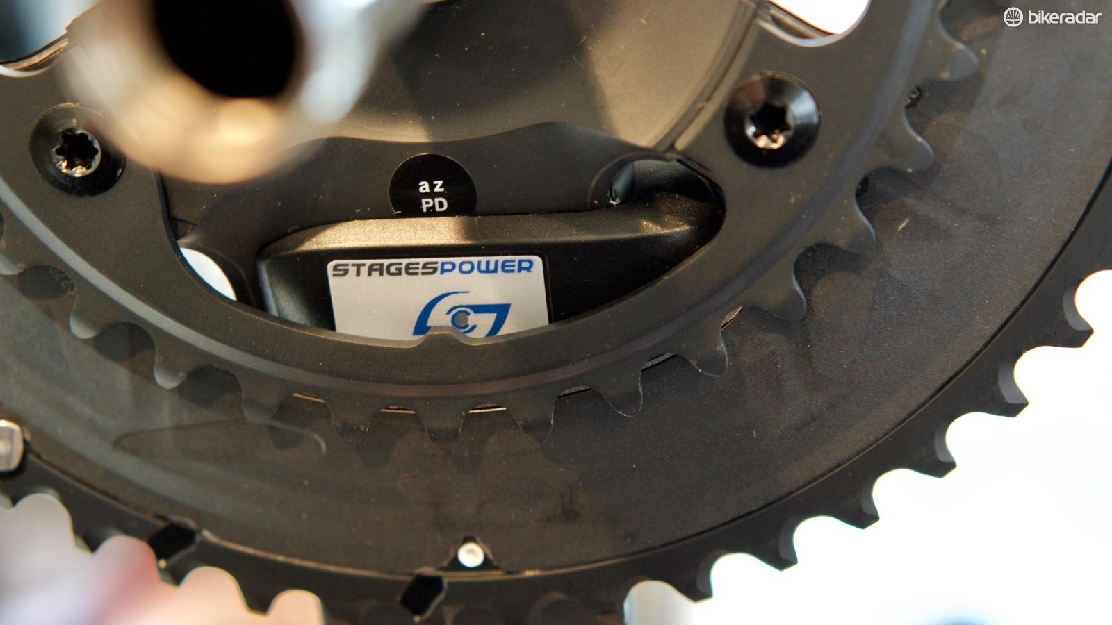 Stages tested the LR meter with Team Sky for more than two years before releasing it for sale
