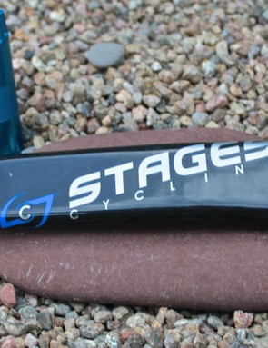 The new Stages Carbon is compatible with BB386EVO and BB30 and it works with SRAM and FSA road and MTB cranksets