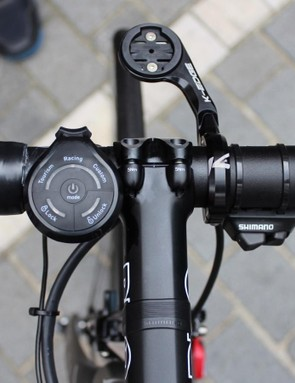 Stannard and Sky began testing the HiRide system with and without the remote shifter in the days ahead of Scheldeprijs for use at Paris-Roubaix