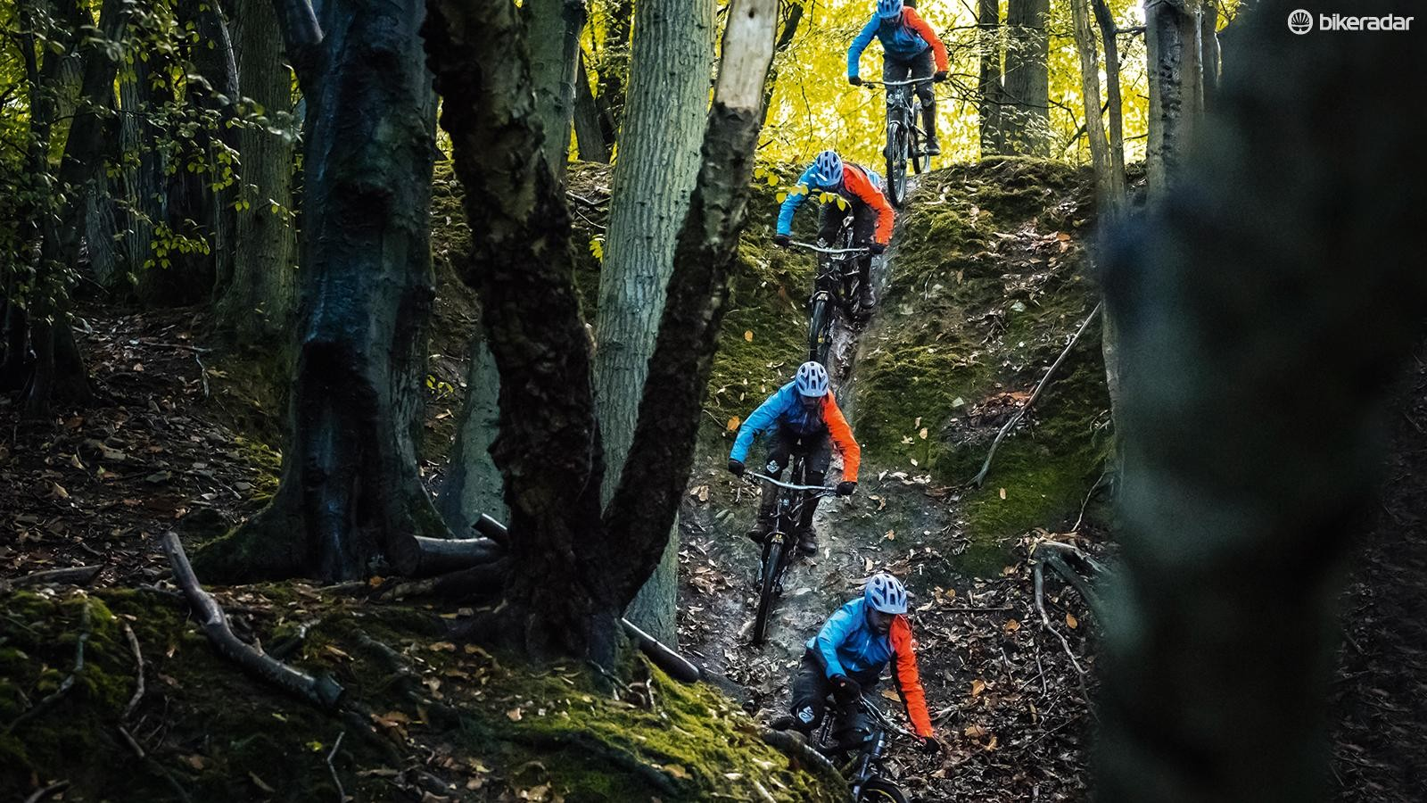 How to ride steep chutes