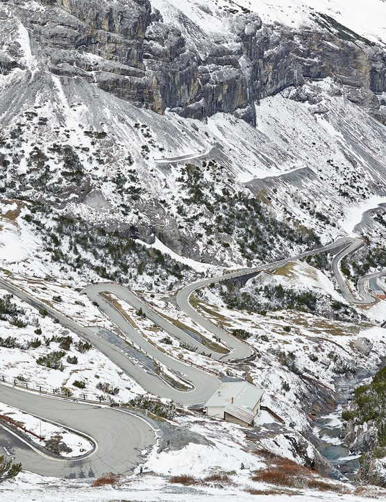 The Stelvio Pass is a brutal bucket-list climb